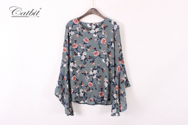 ANDTY0047 - FLORAL BLOUSE