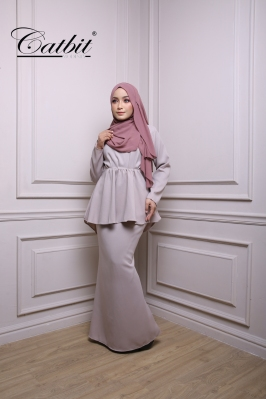 SALOMA FISH TAIL KURUNG MODEN