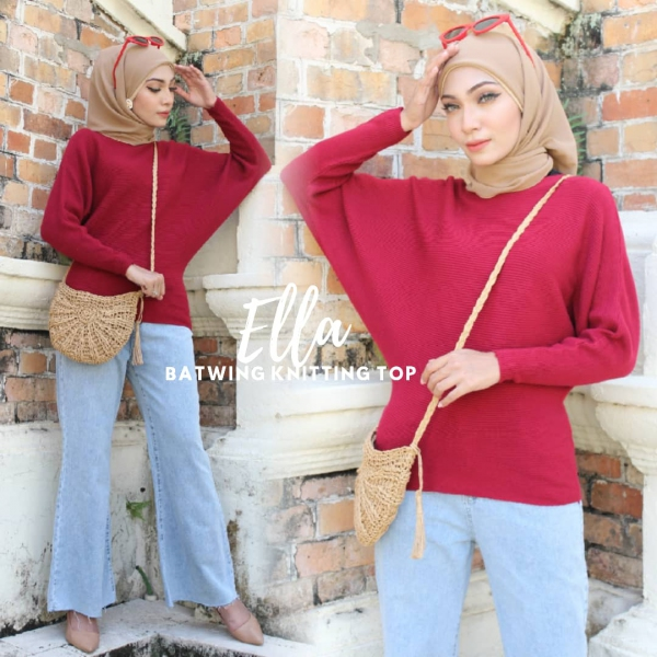 ELLA BATWING KNITTING TOP