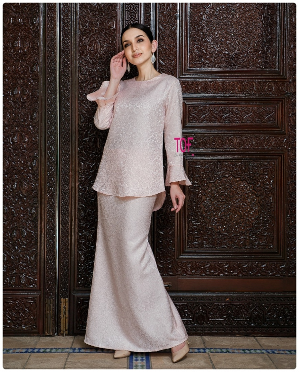Y0148 - ORKED KURUNG - IN SOFT PEACH