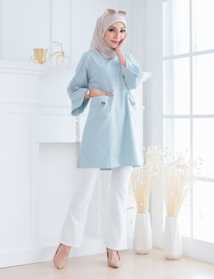 NINA TUNIC BLOUSE (X2913)