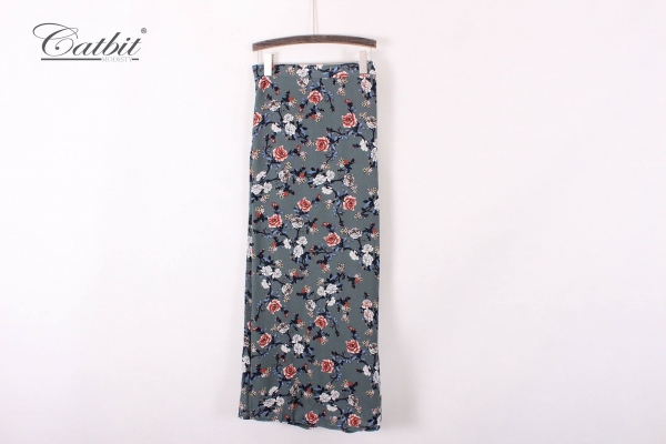 ANDSY0048 - Floral Skirt