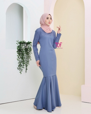 Y0142 - SHERLY KURUNG - IN LILAC BLUE