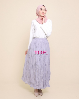1818-1 MIE MIE SKIRT IN LIGHT GREY