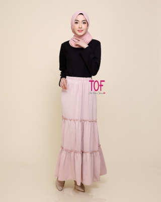 X9315 ADLINE SKIRT IN DUSTY PINK