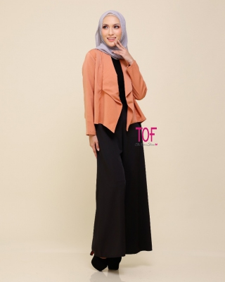 301 MOLY MINI COAT IN PEACH