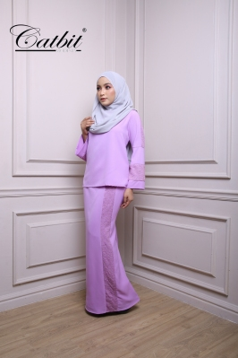 RUBY KURUNG MODEN SET