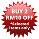 2 RM10 off